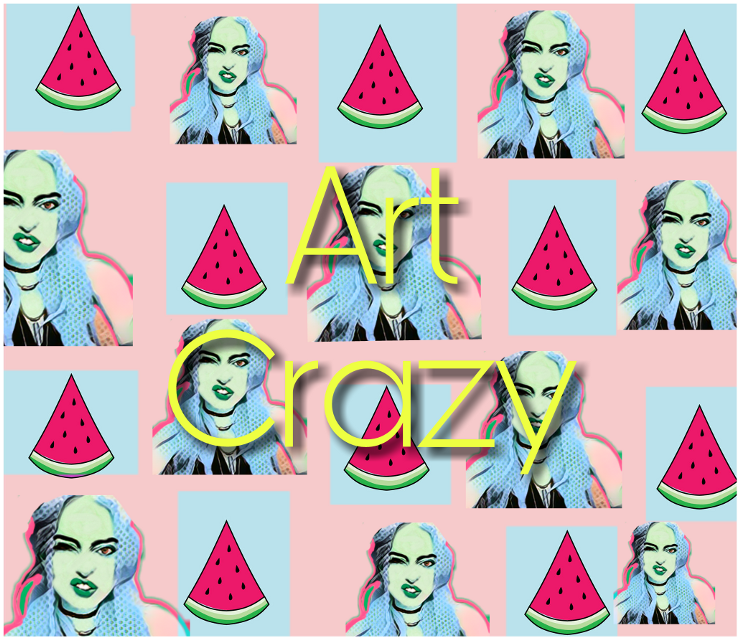 Portrait by @rhmach  #myedit  #creative  #colors  #popart  #artistic  #mydesign  #art