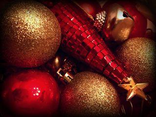 dpcornaments ornaments christmas red gold