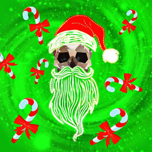 #FreeToEdit #santa #remixed