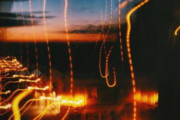 sky lights distorsion
