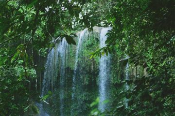 hidden places photography waterfall jungle