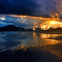 iphonephotography summer sunset beach landscape