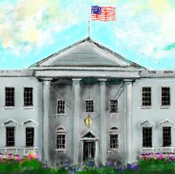workinprogress freetoedit wdpthewhitehouse handdrawn whitehouse