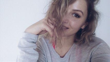 freetoedit selfie freckles messyhair happyface