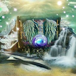 remixed fantasy fantasyworld celestial planet
