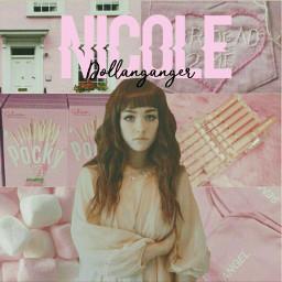 freetoedit nicoledollanganger pink aesthetic