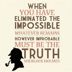 sherlock sherlockholmes impossible truth improbable freetoedit