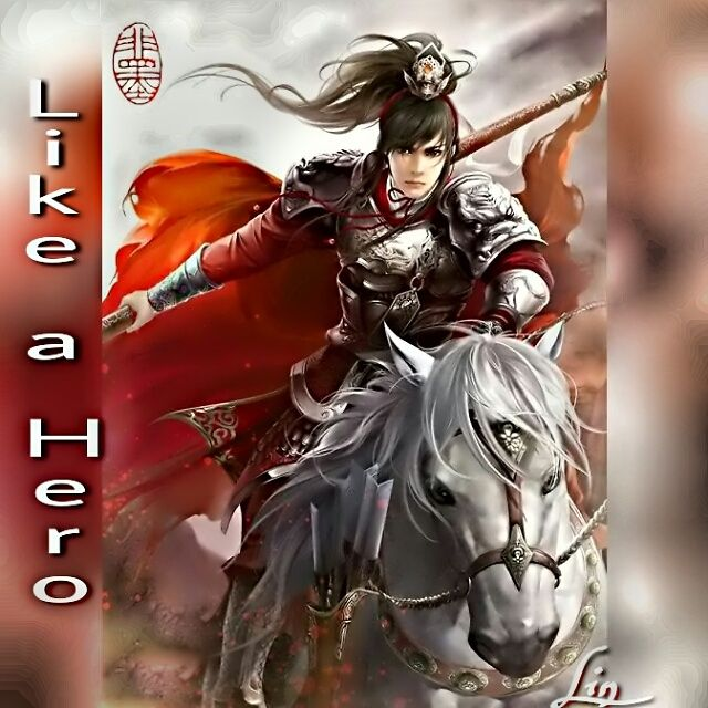 Like a hero prince on a horse anime wuxia myedit lin