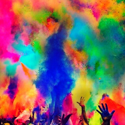 freetoedit color colorful holi colorbomb