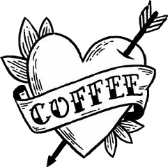 love coffee tattooart tattoo arrow