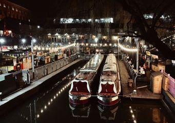 camdentown camden camdenmarket london boats