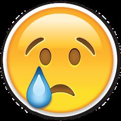 emoji emoticonos whatsapp cry drop